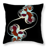 Together As One Throw Pillow