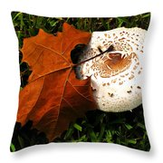 Together In Life And Death Throw Pillow