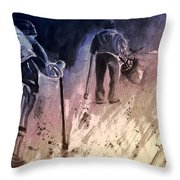 Together Old In Cyprus 04 Bis Throw Pillow