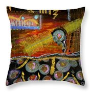 Tokens Throw Pillow