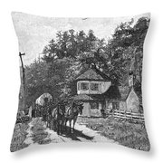 Toll Gate, 1879 Throw Pillow
