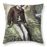 Tom Sawyer, 1876 Throw Pillow by Granger