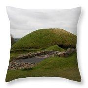 Tomb - Knowth - Ireland Throw Pillow