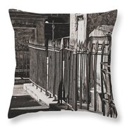 Tombs Of St. Louis Number One Cemetery New Orleans Throw Pillow