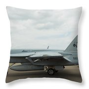 Tomcatters On Tarmac 4 Throw Pillow