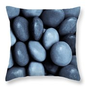 Toned Abstract Art  Throw Pillow