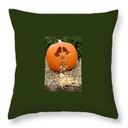 Too Much Candy Throw Pillow
