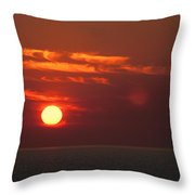 Top End Sunset  Throw Pillow