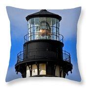 Top Of Lighthouse Throw Pillow