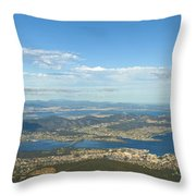 Top Of Mount Wellington Tasmania Throw Pillow