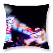 Top Spin Throw Pillow