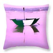 Topsail Drifting Throw Pillow