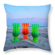 Topsail Hurricane Glasses Throw Pillow
