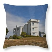 Topsail Island Observation Tower 1 Throw Pillow