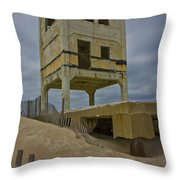 Topsail Island Observation Tower 6 Throw Pillow