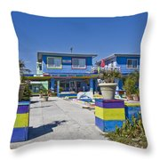 Topsail Island Patio Playground Throw Pillow