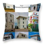 Topsail Island Towers Throw Pillow