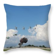 Tora Tora Tora Throw Pillow
