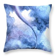Tornado 1931 Throw Pillow