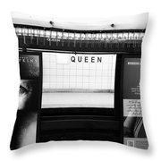 Toronto Subway Throw Pillow