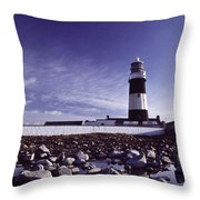 Tory Island, County Donegal, Ireland Throw Pillow