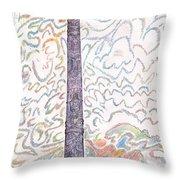 Totem Park Sitka Alaska Throw Pillow