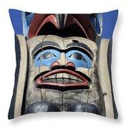 Totem Pole 8 Throw Pillow