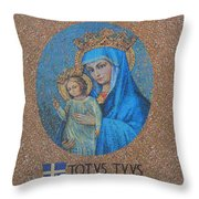 Totvs Tvvs - Jesus And Mary Throw Pillow