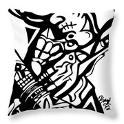 Touch It Throw Pillow