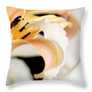 Touching Softly Throw Pillow