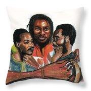 Toure Kunda Throw Pillow