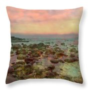 Toward The Sea Throw Pillow