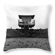 Tower 4 Throw Pillow