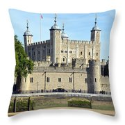Tower And Traitors Gate Throw Pillow