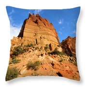 Tower In The Sky Throw Pillow