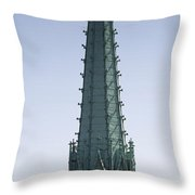 Tower Of Cathedral Throw Pillow