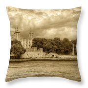 Tower Of London Throw Pillow