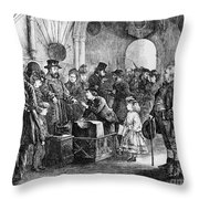 Tower Of London: Museum Throw Pillow