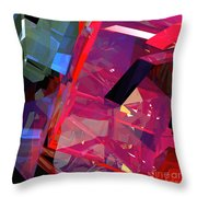 Tower Poly 11 Airstrike 2 Throw Pillow