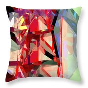 Tower Poly 12 Throw Pillow