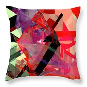 Tower Poly 14 Throw Pillow