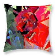 Tower Poly 15 Throw Pillow