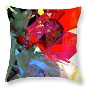 Tower Poly 16 Poppy Throw Pillow