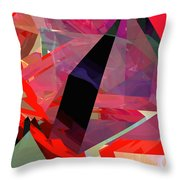 Tower Poly 18 Throw Pillow