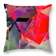 Tower Poly 20 Throw Pillow