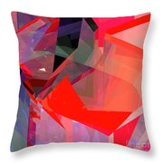 Tower Poly 22 Throw Pillow