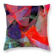 Tower Poly 23 Vortex Throw Pillow
