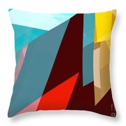Tower Series 1 Throw Pillow