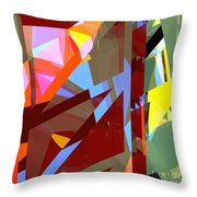 Tower Series 19 Jungle House Throw Pillow