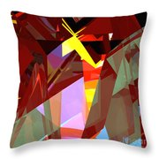 Tower Series 20 Night House Throw Pillow